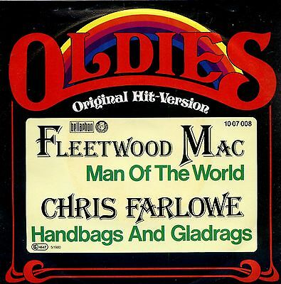 bf42975c54 7inch FLEETWOOD MAC man of the world   CHRIS FARLOWE handbags and gladrags  +PS
