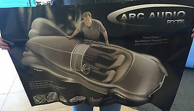 Chip Foose Impressions Hot Rod Custom Art Riddler Autorama SEMA Poster Arc Audio