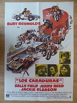 SMOKEY AND THE BANDIT (1977) - original Spanish 1 sheet film/movie poster,comedy
