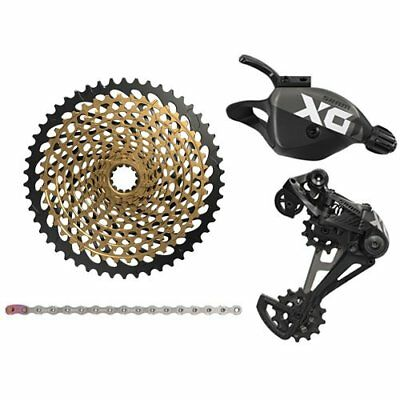 SRAM X01 Eagle 12 Speed Groupset , Trigger Shifter w/ XG-1299 Cassette , Black