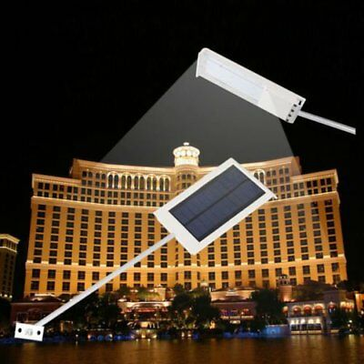 Solar Power Panel Lamp LED Outdoor Street Wall Street Lamp Induction Light