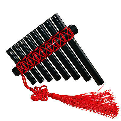 Panflute Panpipes Percussion Woodwind Instrument Plastic Pan Flute for Kids