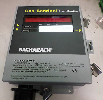 Bacharach Sentinel - Dual Channel Sensor Area Monitor -- 51-7469 -- New