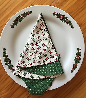 Christmas  Handmade Napkins Cotton (Sets of 4)