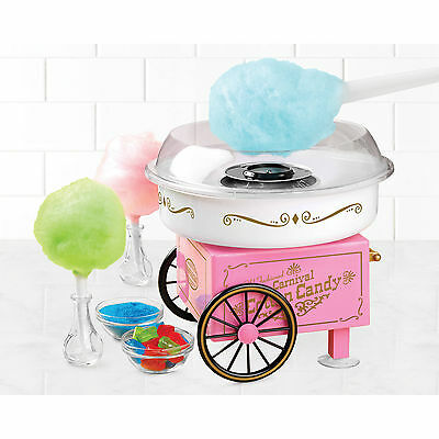 Candy Cotton Maker Machine Electric Sugar Free Party Hard Candy Nostalgia