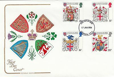 (98433) GB Cotswold FDC Heraldry London SE1 17 January 1984