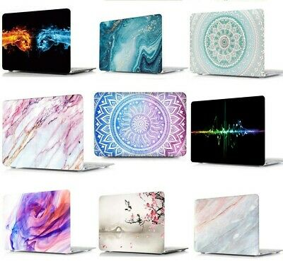 """Hard Case Cover for Apple Mac MacBook Air 13"""" 13.3"""" inch + Rubberized KB cover"""