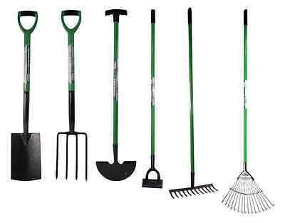 High Quality Digging Garden Spade Shovel Fork Hoe Rake Tools Gloves Patio Clean