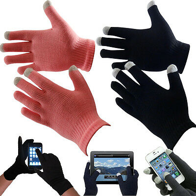 Unisex Winter Touch Screen Gloves Iphone Ipad Phone Magic Black Or Pink Gloves