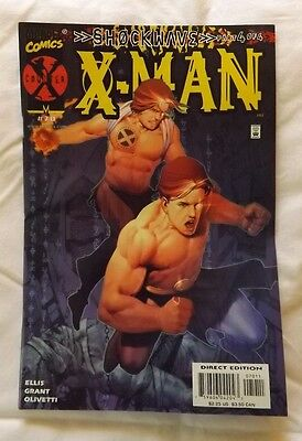 x-man Vol.1 No.70 Near Mint Marvel Comic Direct Edition December 2000 X Man