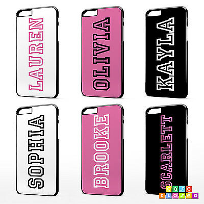 PERSONALISED CUSTOM NAME PINK INSPIRED Phone Case Cover For iPhone Samsung