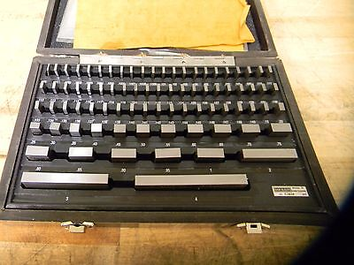 "iMGages Steel Gage Block Set 0.05"" to 4"" Range 81 Piece #E3858"