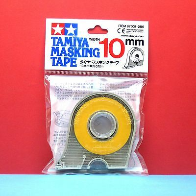 Tamiya #87031 Masking Tape with Dispenser 10mm x 18M length