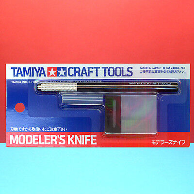 Tamiya #74040 Modeler's Knife (with 25pcs Replacement Blade) [Craft tools]