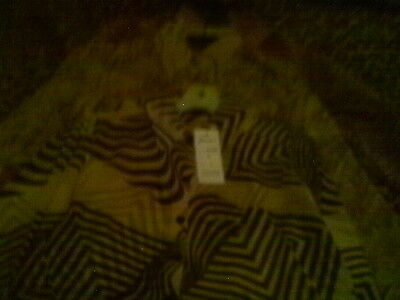 12 Pc Lot Women's Animal Print Shear Blouse By Cassee Small Medium Large X Large