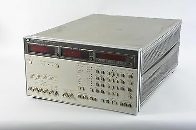 HP/Agilent 4192A LF Impedance Analyzer. 5 Hz to 13 MHz
