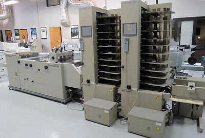 Standard Horizon VAC-100A&C Air-Feed Collator and SPF-20 + FC-20 Booklet Maker