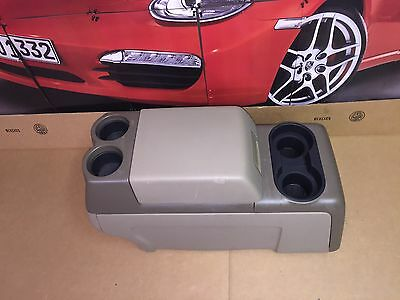 04-08 Ford F150 Two Tone Two Tone Tan Column Shift Center Console Assembly Oem