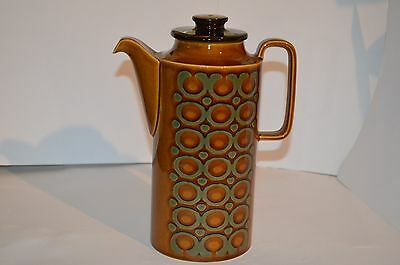 Cool Retro Hornsea Pottery Bronte Design Coffee Pot