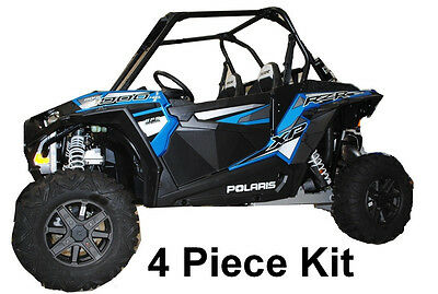 Polaris RZR 1000 XP1K XP1000 Turbo Lower Door Panel Inserts - 4 Piece Kit!