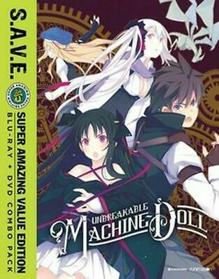 Unbreakable Machine Doll: the Complete Series - Blu-Ray Region 1 Free Shipping!