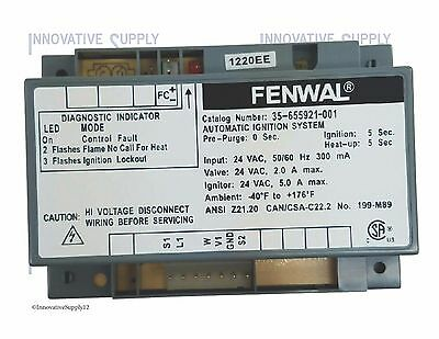 Fenwal Southbend Range 1175723 Ignition Control Module 35-655921-001