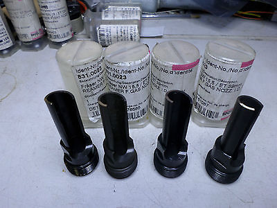 BINZEL ABICOR - Torch Cleaning TCS-5 - Qty of 4 REAMER 831.0023 - 15.5mm Nozzle