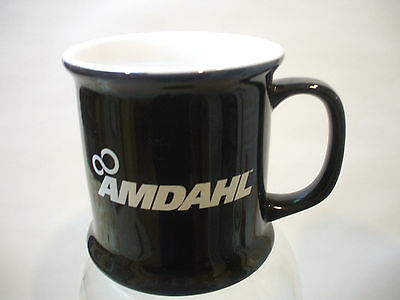 1990's Amdahl Black Coffee Cup