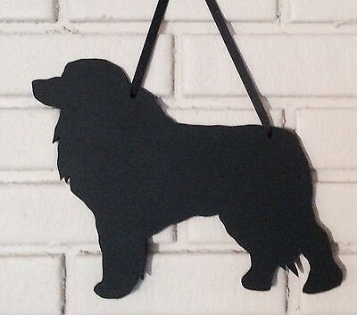 Great Pyrenees Handmade Chalkboard Dog Shadow Blackboard w/chalk & Eraser