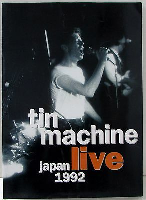 TIN MACHINE 1992 Japan live Tour Brochure Concert program DAVID BOWIE