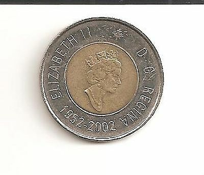 "1952-2002 Canadian 2 Dollar Coin  ""Twoonie"""