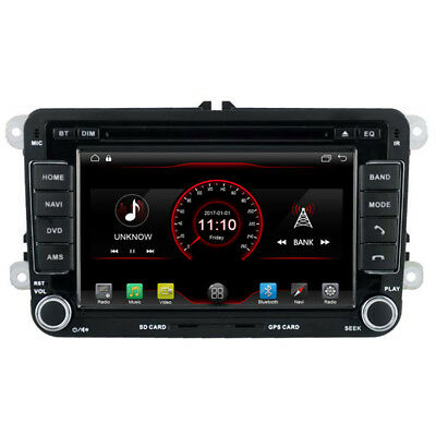 Android 6.0 Quad Core Car DVD Radio Stereo GPS Navi For VW PASSAT GOLF Jetta
