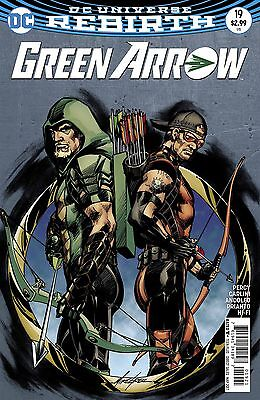 Green Arrow #19 Grell Variant Rebirth Dc Comics 3/15/17 Near Mint