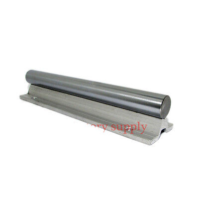SBR12-1000mm 12mm fully supported cnc router part linear rail shaft rod HOT SALE