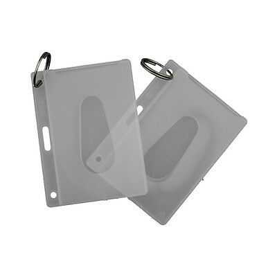 KEVRON Polypropylene ID / Fuel Card Holders x 2 ID18-FREE POSTAGE-Twin Pack