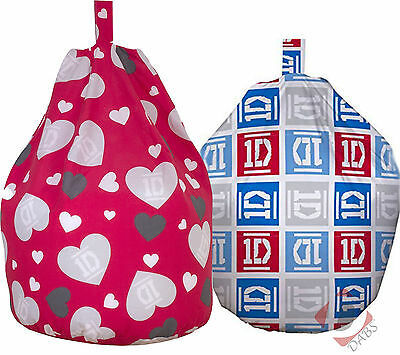 One Direction 1D Unfilled Replacement Bean Bag Cover