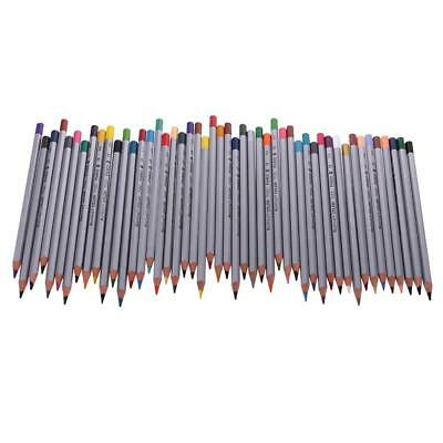 48 Pencil Set Colored Pencils for Drawing Art School Craft Supplies Coloring