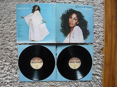 Donna Summer Once Upon A Time 1st UK Press A1 Double Vinyl LP NM Giorgio Moroder