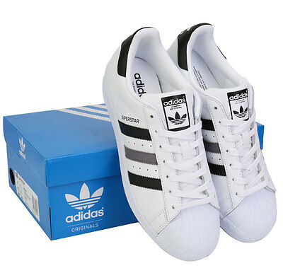 chaussures de sport e50c2 b3cff ADIDAS ORIGINAL SUPERSTAR BB2244 Sneakers Shoes Skate Board White Black