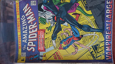 amazing spiderman 102 - 2nd appearance and origin of morbius