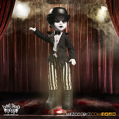 Living Dead Dolls - Moulin Morge Series 33 Maitre Des Morts By Mezco IN STOCK