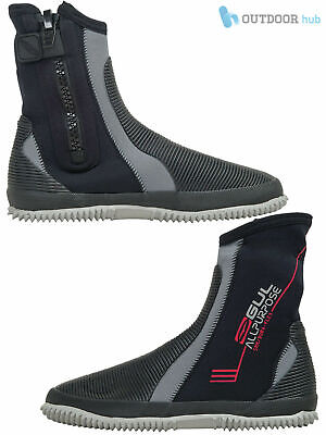 Gul All Purpose 5mm Neoprene Wetsuit Boots Dinghy Sailing Mens Ladies Non Slip