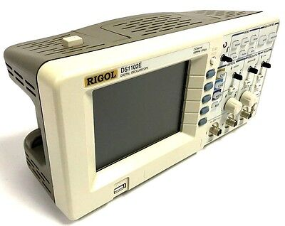RIGOL DS1102E Digital Oscilloscope 100MHz 1 GSa/s 2 ch USB (Missing Knobs)