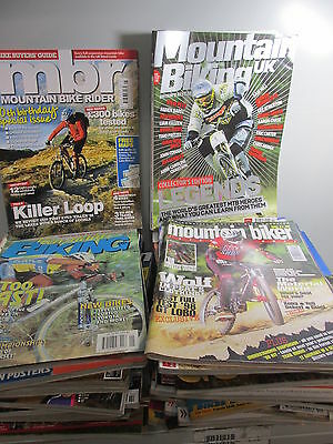 Mountain Biker Magazine collection x 47 issues, various periodicals, job lot