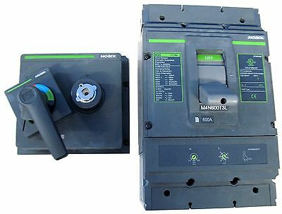 225A 225 Amp Molded Case Circuit Breaker w/ Disconnect Kit 240 480 600 Volt