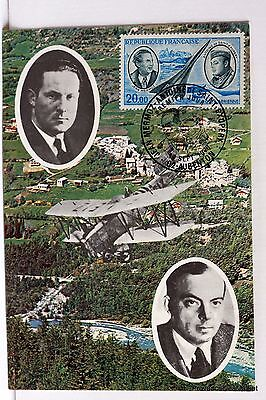 Yt PA44 SAINT EXUPERY MERMOZ   FRANCE CARTE MAXIMUM 1° JOUR FCP
