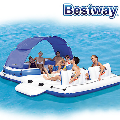 Bestway Isola Floating Tropical Breez Inflatable 6 Persone 43105