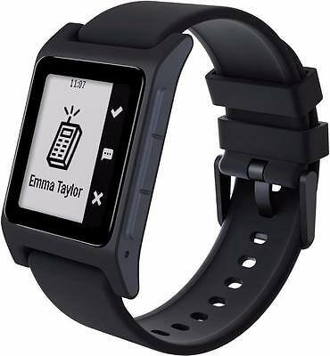 Pebble 2 SE Fitness Tracker / Bluetooth Smartwatch for Android or iOS - Black