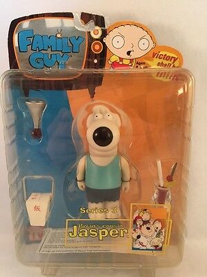 Family Guy - Brian's Cousin Jasper Blue - Series 3 Mezco Action Figure