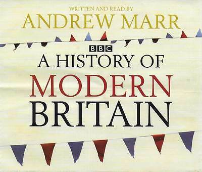 Andrew Marr A HISTORY OF MODERN BRITAIN - 6 CD Audio Book